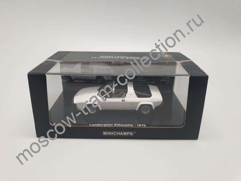 Коллекционная масштабная модель 1:43 Lamborghini Silhouette 1976