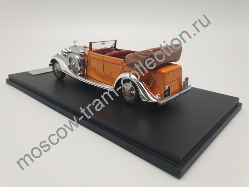 Коллекционная масштабная модель 1:43 Rolls-Royce Phantom II Star of india Thrupp Maberli Ltd