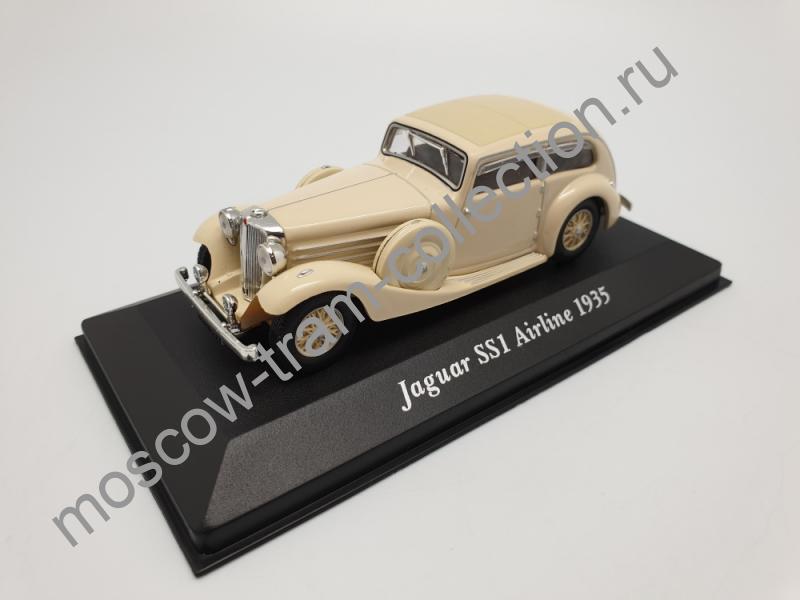 Коллекционная масштабная модель 1:43 Jaguar SS1 Airline 1935