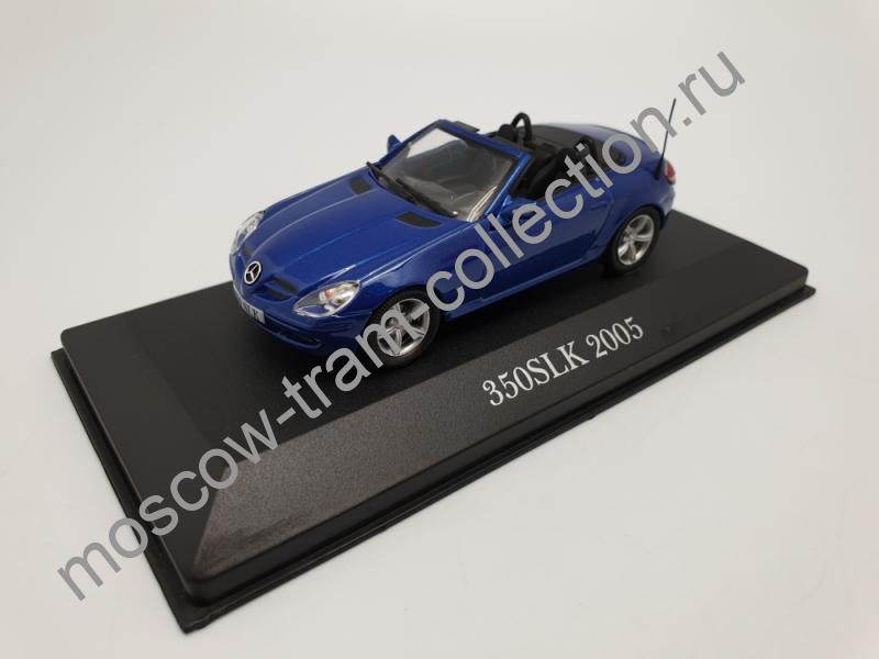 Коллекционная масштабная модель 1:43 Mercedes-Benz 350 SLK 2005
