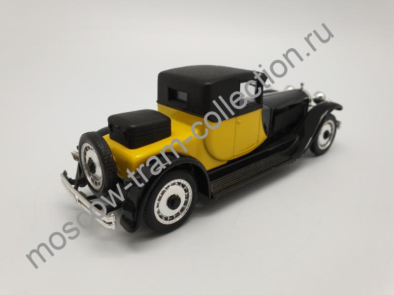 Коллекционная масштабная модель 1:43 Bugatti Royale 41-1928