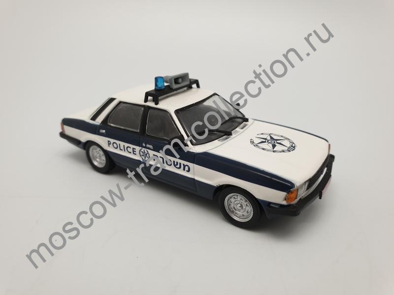 Коллекционная масштабная модель 1:43 Выпуск №031 Ford Cortina MKV (Полиция Израиля)