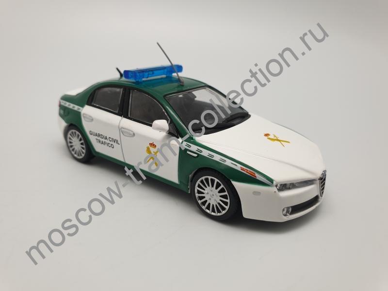 Коллекционная масштабная модель 1:43 Выпуск №043 Alfa Romeo 159