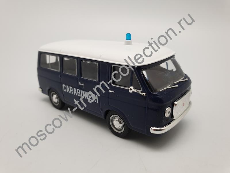 Коллекционная масштабная модель 1:43 Выпуск №002 Fiat 238 Carabinieri 1967