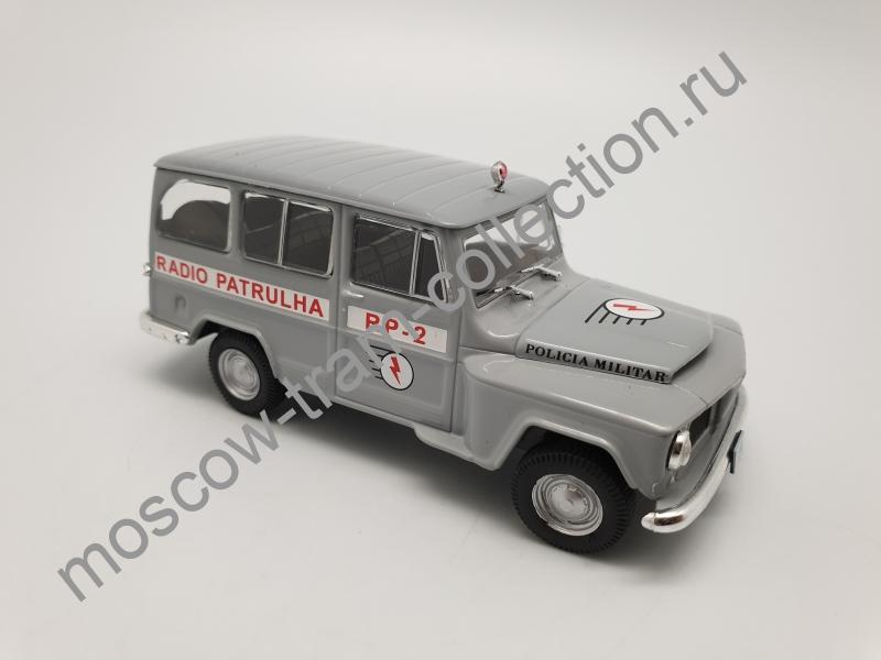 Коллекционная масштабная модель 1:43 Выпуск №060 Willys Rural Policia Militar