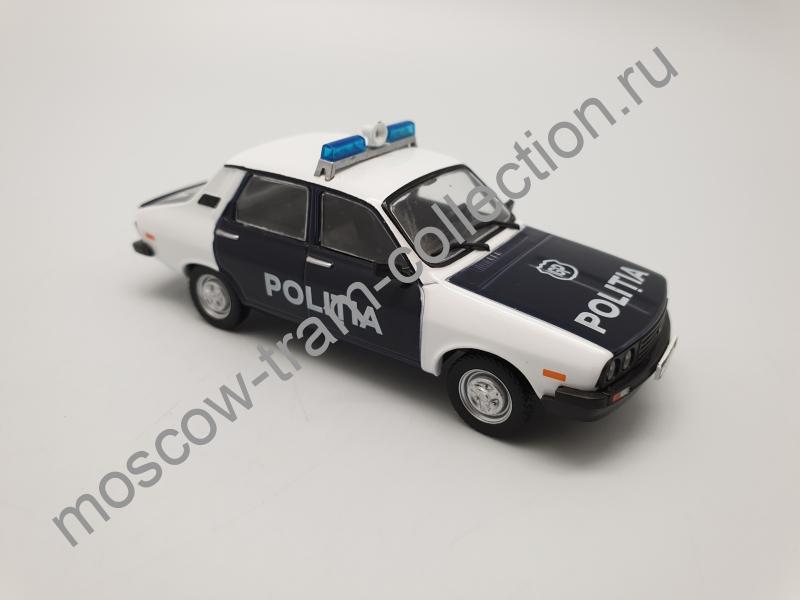 Коллекционная масштабная модель 1:43 Выпуск №052 Dacia 1310 полиция Румынии