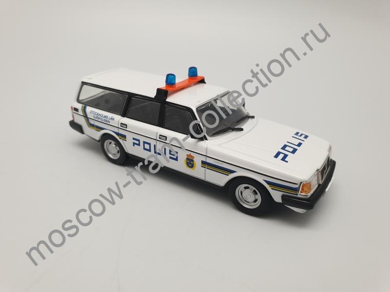 Коллекционная масштабная модель 1:43 Выпуск №056 Volvo 240