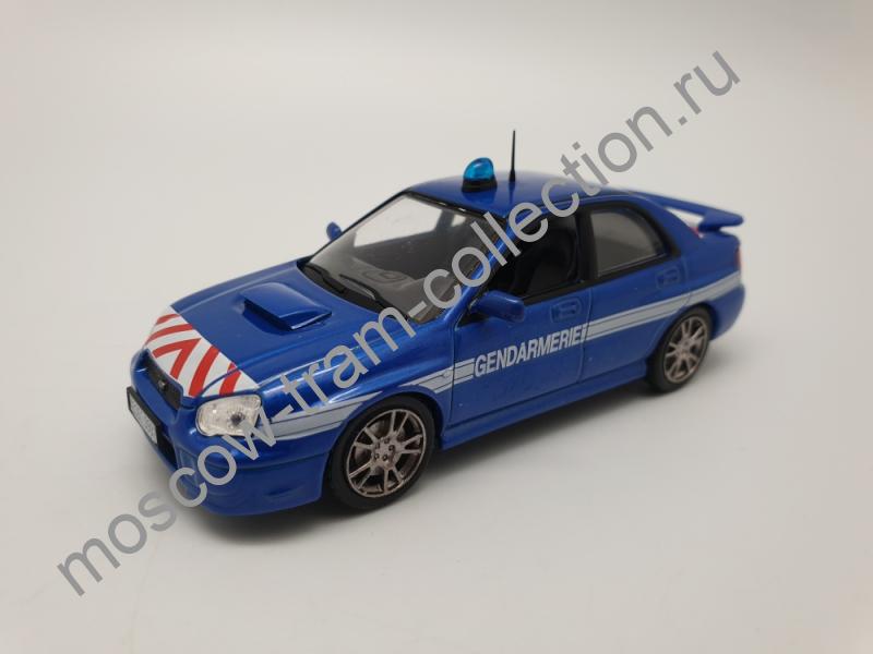 Коллекционная масштабная модель 1:43 Выпуск №004 Subaru Impreza