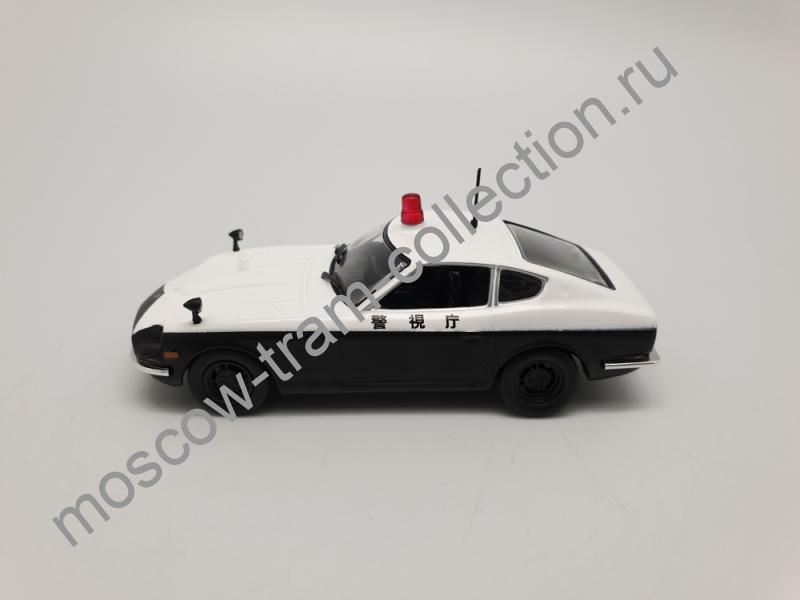 Коллекционная масштабная модель 1:43 Выпуск №005 Nissan Fairlady Z 1972 Полиция Японии