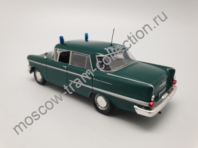 Коллекционная масштабная модель 1:43 Выпуск №006 Opel Kapitan полиция Германии