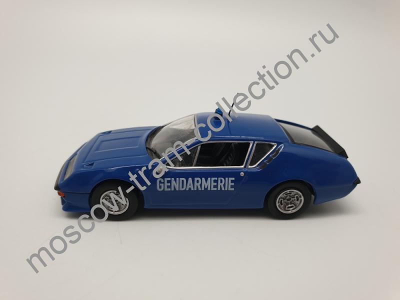 Коллекционная масштабная модель 1:43 Выпуск №011 Alpine Renault A310 Французская жандармерия