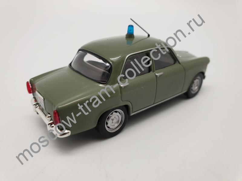 Коллекционная масштабная модель 1:43 Выпуск №014 Alfa Romeo Giulietta Полиция Италии