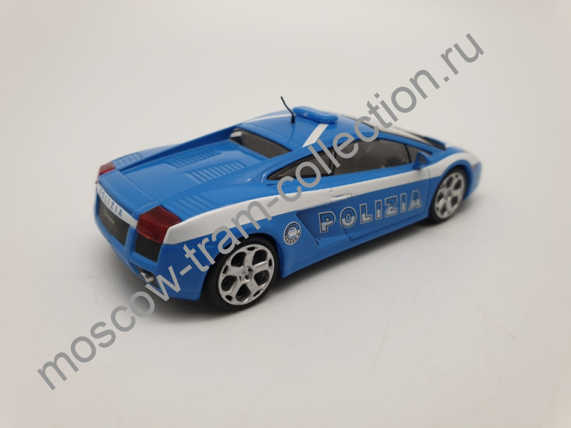 Коллекционная масштабная модель 1:43 Выпуск №020 Lamborghini Gallardo
