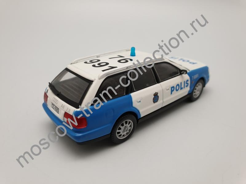 Коллекционная масштабная модель 1:43 Выпуск №038 Audi A6 Avant