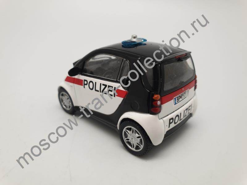 Коллекционная масштабная модель 1:43 Выпуск №045 Smart CITY coupe