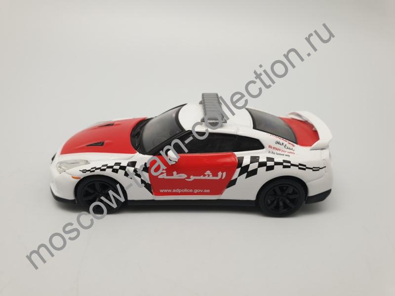 Коллекционная масштабная модель 1:43 Выпуск №051 Nissan GTR Полиция Арабских Эмиратов
