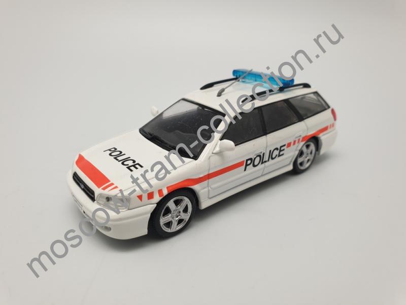 Коллекционная масштабная модель 1:43 Выпуск №058 Subaru Legasy 2.5 SW