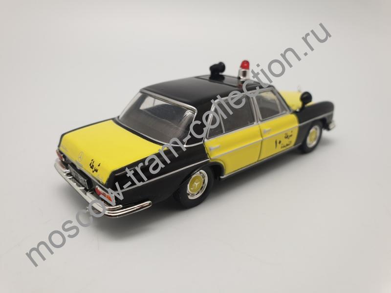 """Коллекционная масштабная модель 1:43 Выпуск №079 Mercedes-Benz W108 """"Полиция Кувейта"""""""