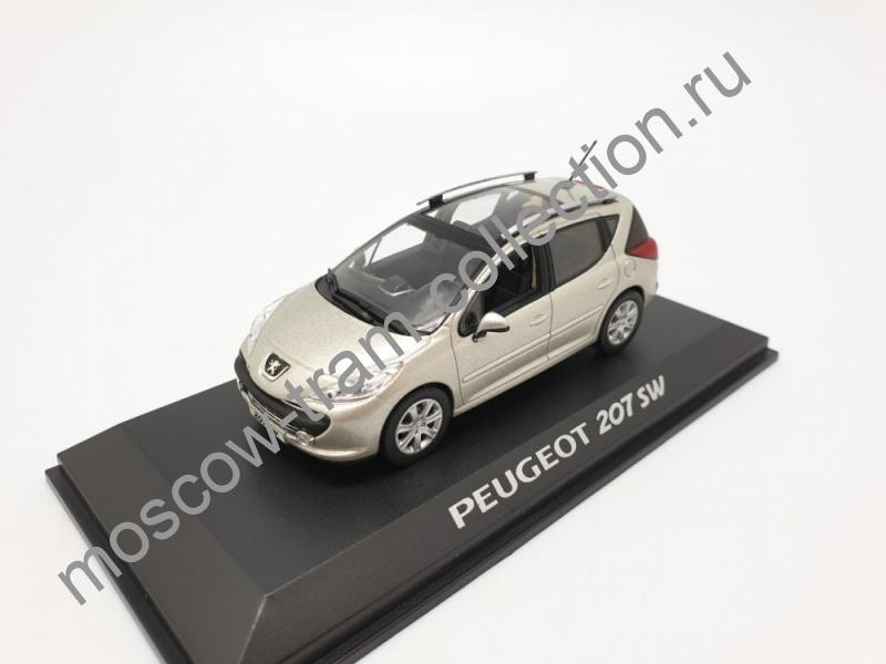 Масштабная коллекционная модель Peugeot 207 SW