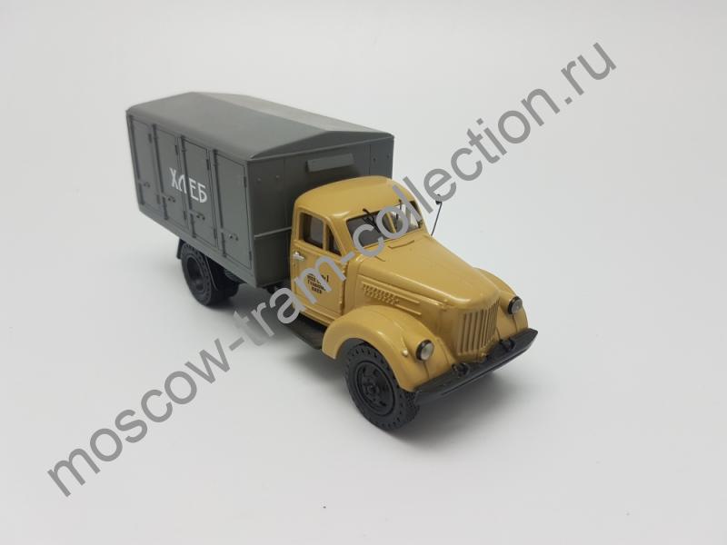 """Коллекционные масштабные модели Урал-Зис 355М """"Хлеб"""", бежевый"""