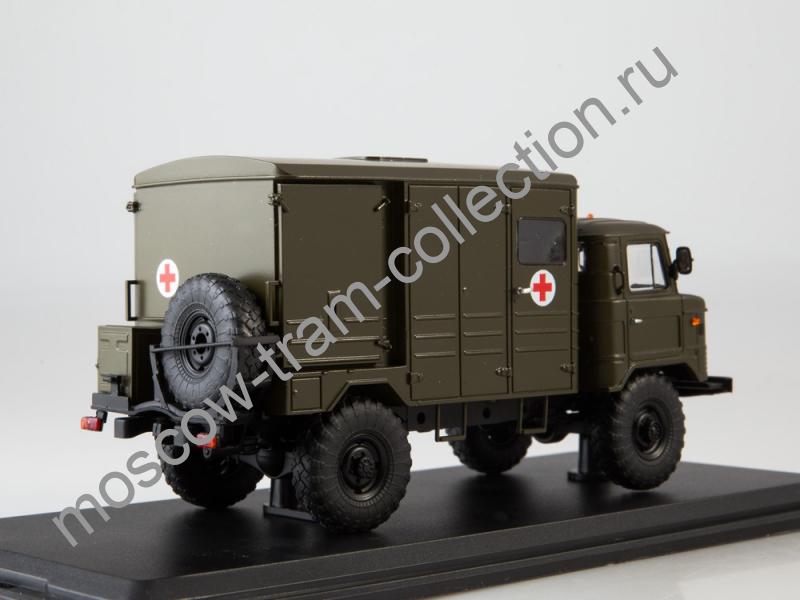 Коллекционная масштабная модель 1:43 ДДА-66