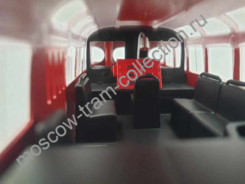 Коллекционная масштабная модель 1:43 Паз 672 пожарка