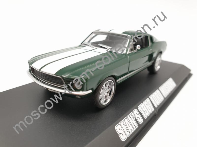 Коллекционная масштабная модель 1:43 Ford Mustang 1967 Sean's