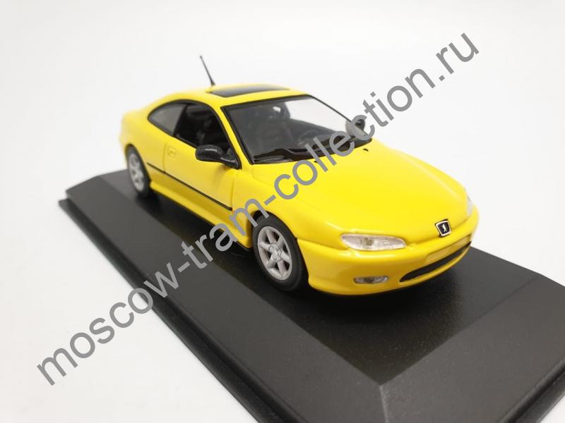 Коллекционная масштабная модель 1:43 Peugeot 406 Coupe