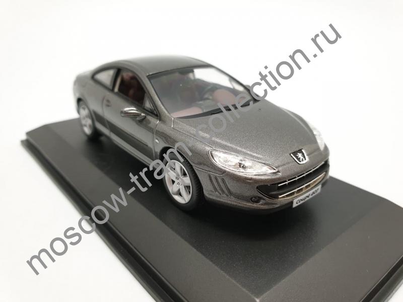 Коллекционная масштабная модель 1:43 Peugeot 407 Coupe