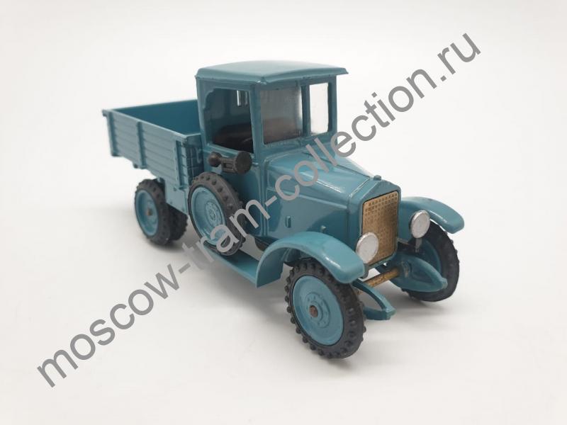 """Коллекционная масштабная модель 1:43 АМО-Ф15 """"борт"""" 1927 г."""