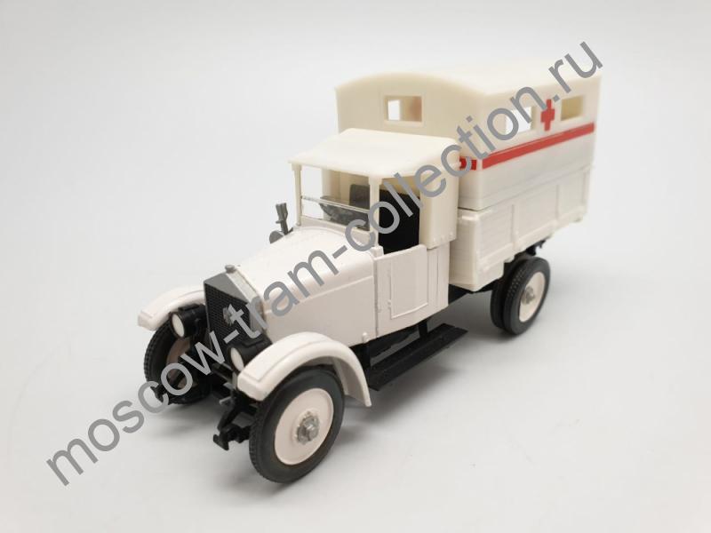 "Коллекционная масштабная модель 1:43 АМО-Ф15 ""фургон"""