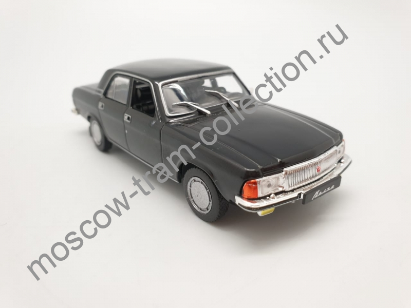 Коллекционная масштабная модель 1:43 Выпуск №035: ГАЗ 3102 Волга