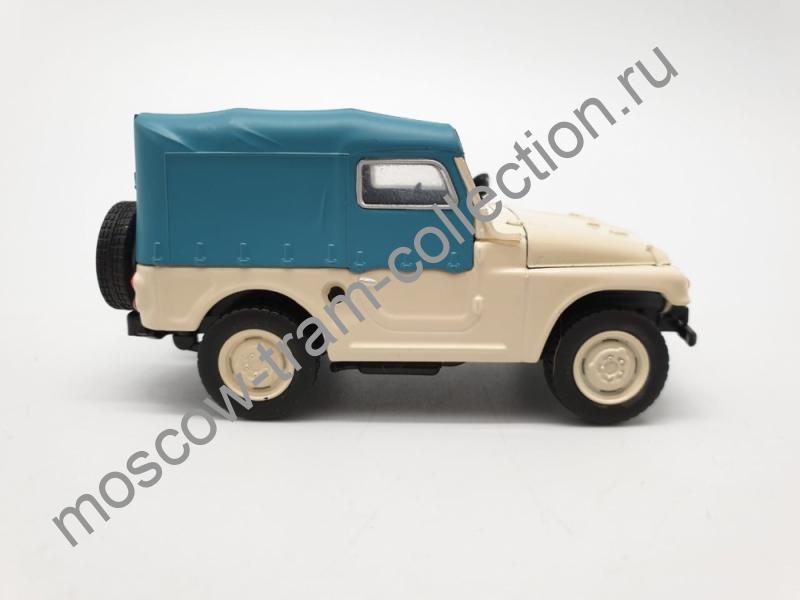 Коллекционная масштабная модель 1:43 Выпуск №112 Москвич 415