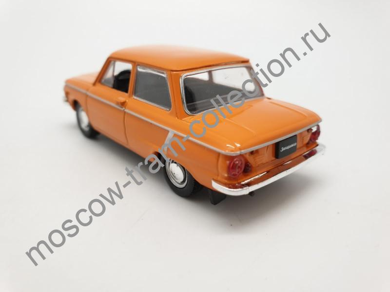 Коллекционная масштабная модель 1:43 Выпуск №004: ЗАЗ 968А Запорожец