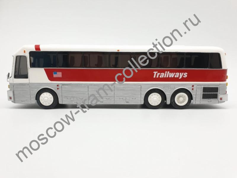 Масштабная коллекционная модель Eagle 10/40 Trailways 80 г.