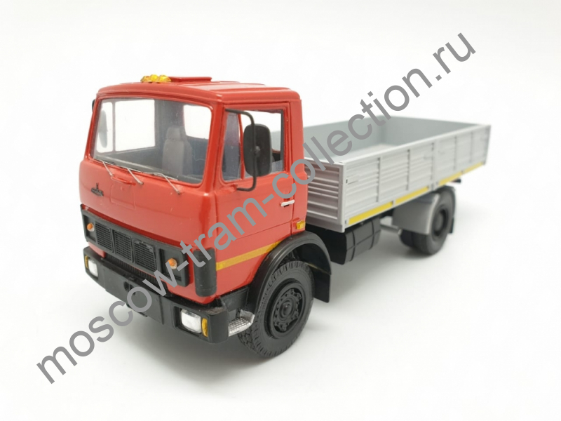 Коллекционные масштабные модели Маз 53371 борт, красный