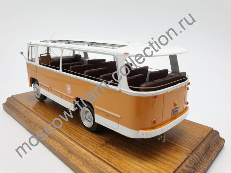 Коллекционная масштабная модель 1:43 Паз 672А Турист Испытания