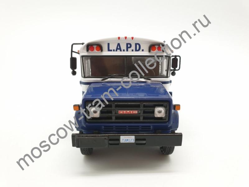 Коллекционная масштабная модель 1:43 GMC-6000,(LAPD-POLICE) 1988г.