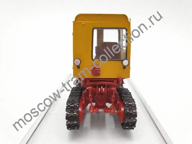 Коллекционная масштабная модель 1:43 Т-70 КТЗ желтый