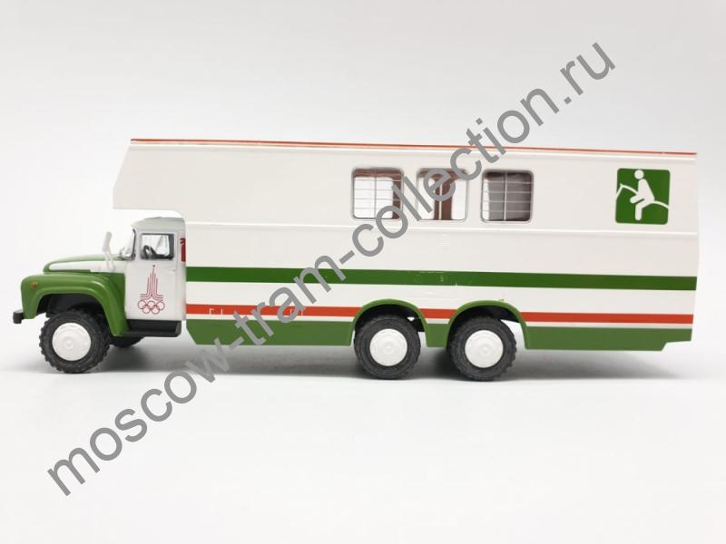 Коллекционная масштабная модель 1:43 Выпуск №078 Зил 133 Г1 перевозка лошадей