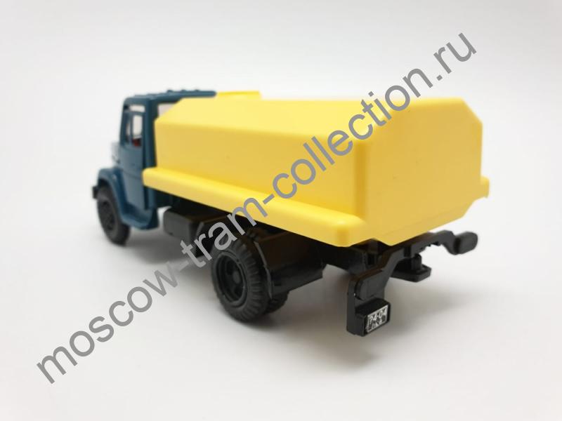 """Коллекционная масштабная модель 1:43 ЗИЛ-4331,""""Цистерна Молоко"""""""