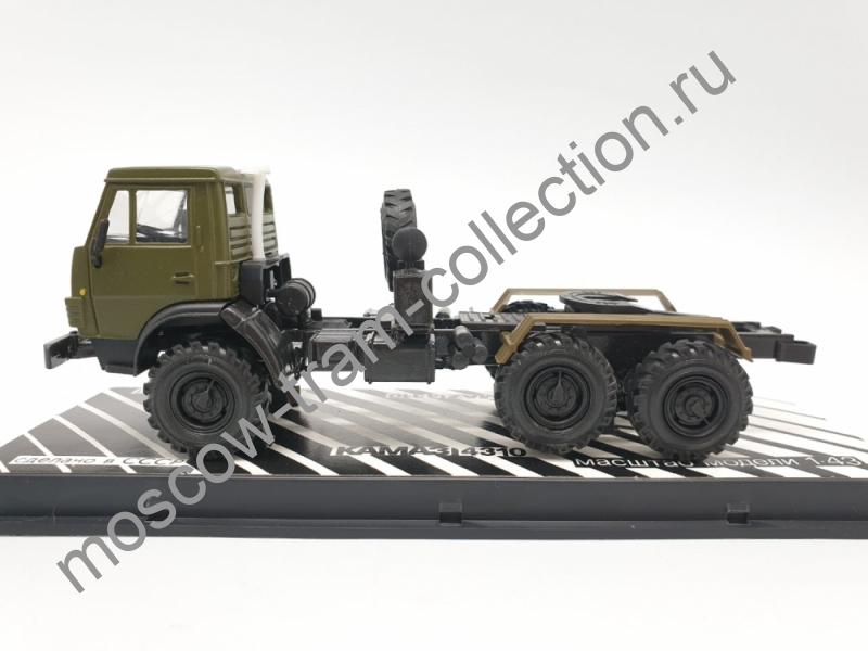 Коллекционная масштабная модель 1:43 КАМАЗ-4310 (Тягач)