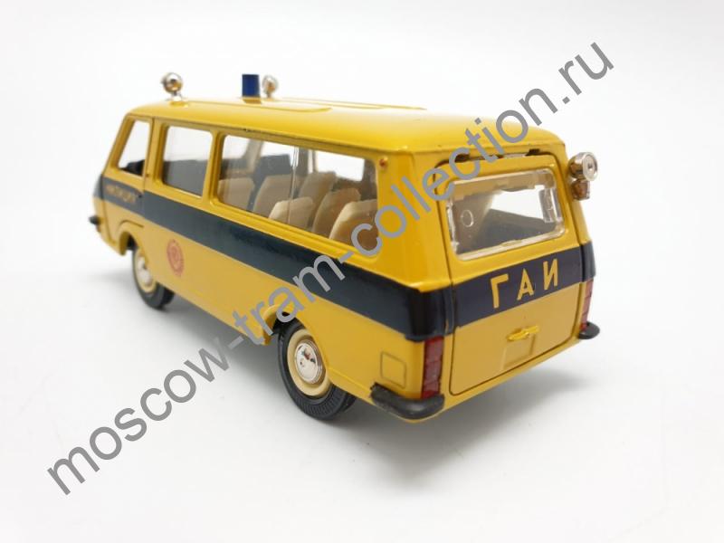 Коллекционная масштабная модель 1:43 РАФ-Патрульная,№-А25