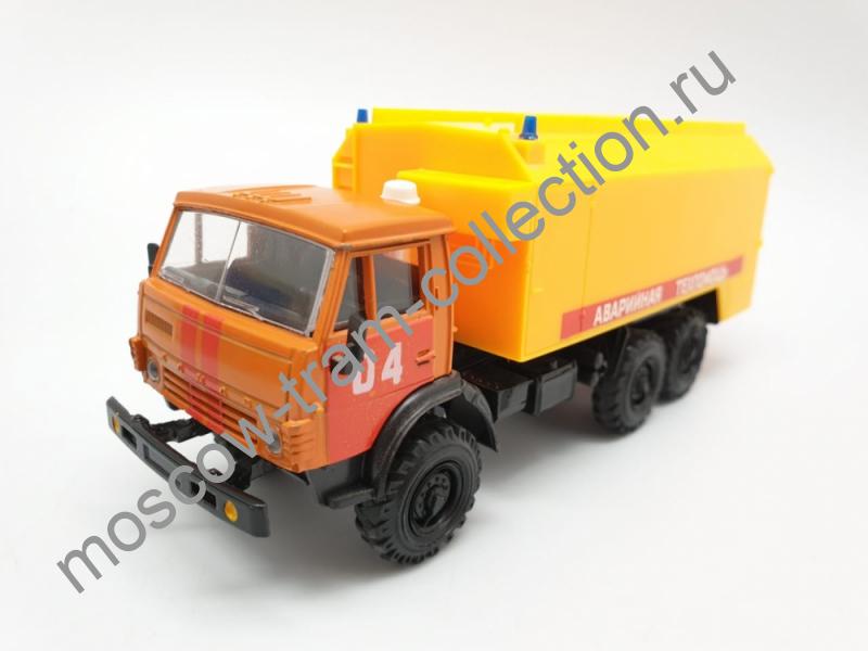 Коллекционная масштабная модель 1:43 Камаз 4310 Аварийная служба
