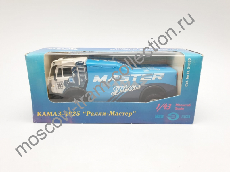 """Коллекционная масштабная модель 1:43 КАМАЗ-4925,№303,""""Победитель ралли Париж-Дакар"""""""