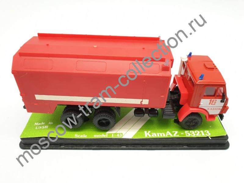 Коллекционная масштабная модель 1:43 КАМАЗ-53213