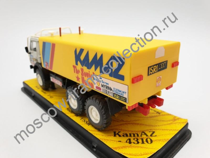 Коллекционная масштабная модель 1:43 КАМАЗ-4310,№-503