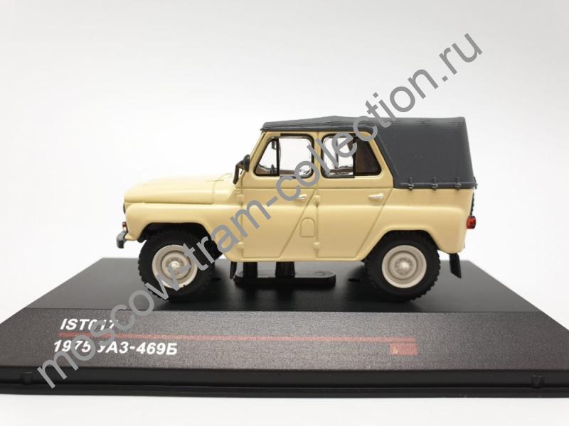Масштабная коллекционная модель УАЗ 469Б 1975
