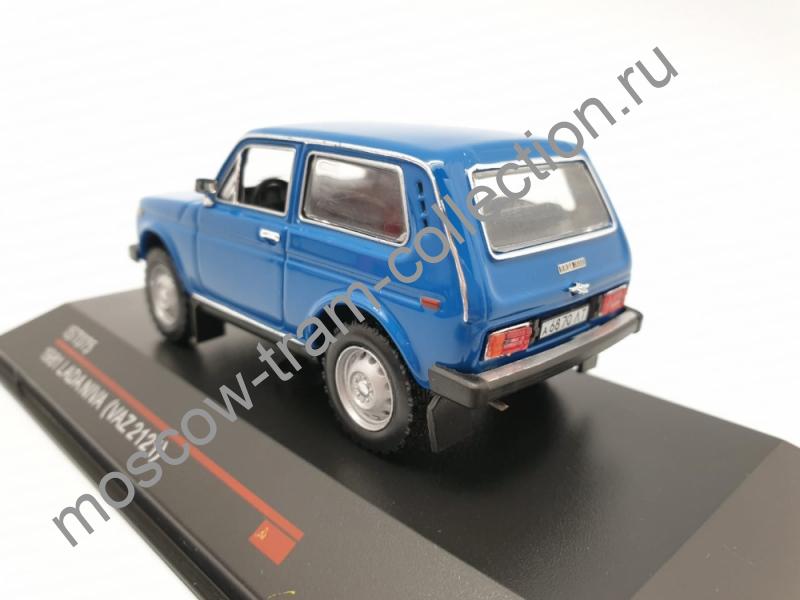 Масштабная коллекционная модель ВАЗ 2121 НИВА 1981