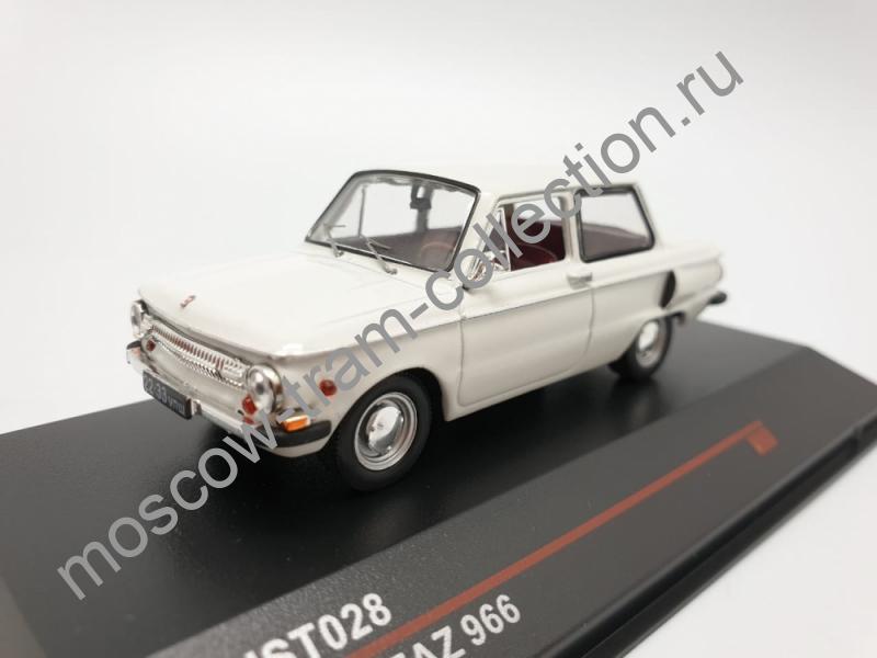 Масштабная коллекционная модель ZAZ 966 1967
